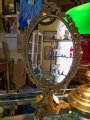 Antique Swivel Mirror