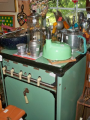 Vintage Green Stove